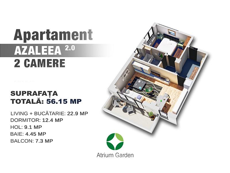 Apartament Azaleea