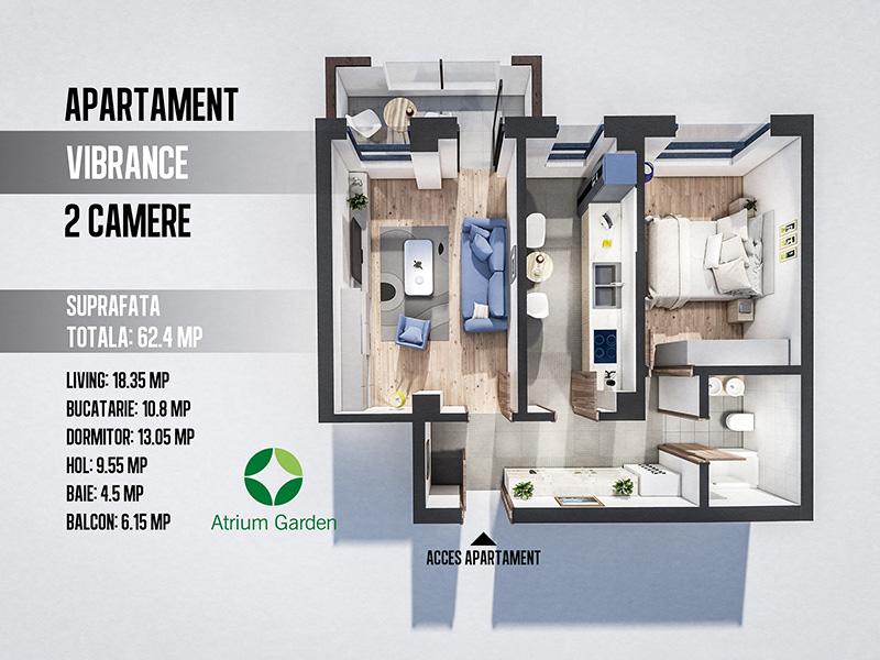 Apartament Vibrance