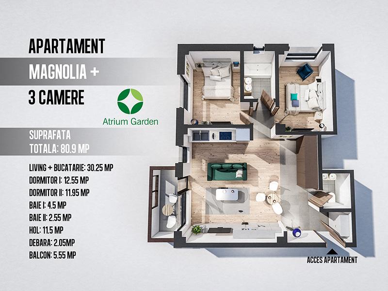 Apartament Magnolia +