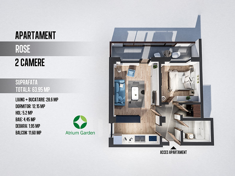 Apartament Rose