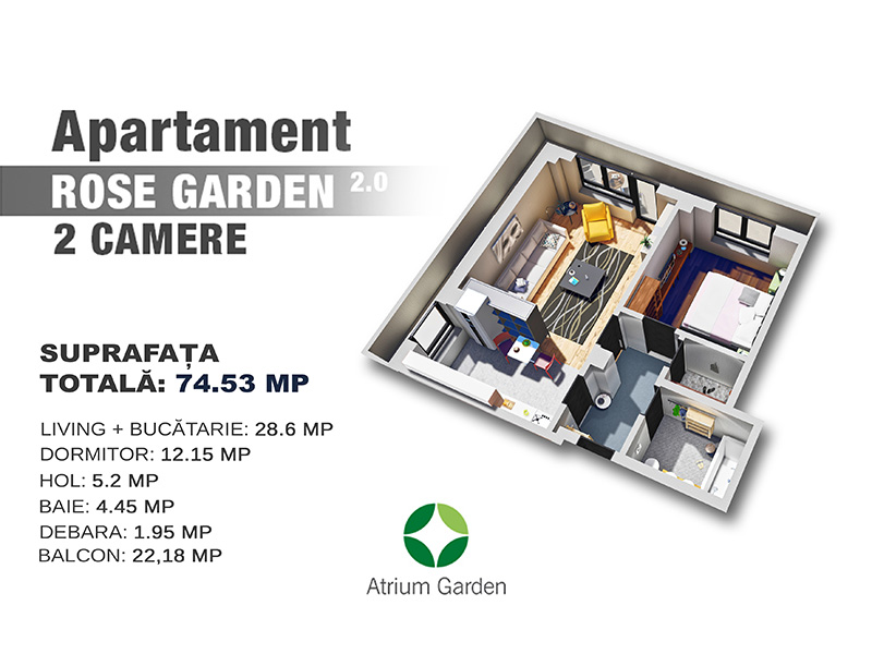 Apartament RoseGarden